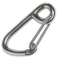 Snap Hook Carabiner 8mm with Large Opening